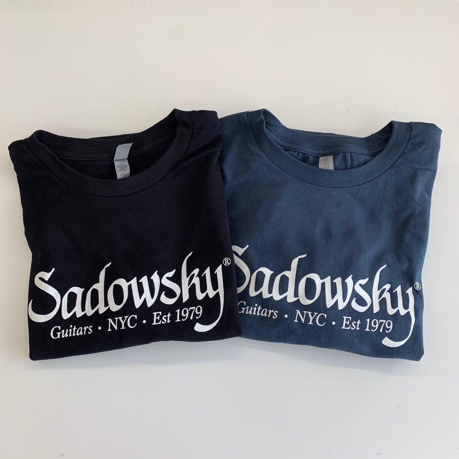 10ff500f Sadowsky Printed Logo T-Shirt - Sadowsky Guitars