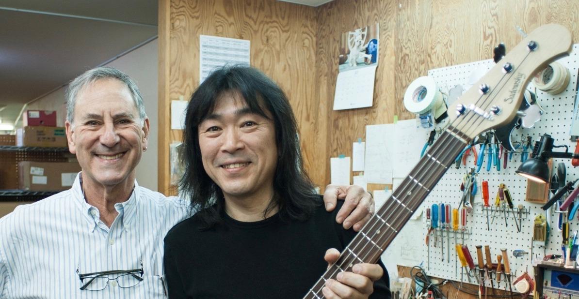 Roger Sadowsky and Yoshi