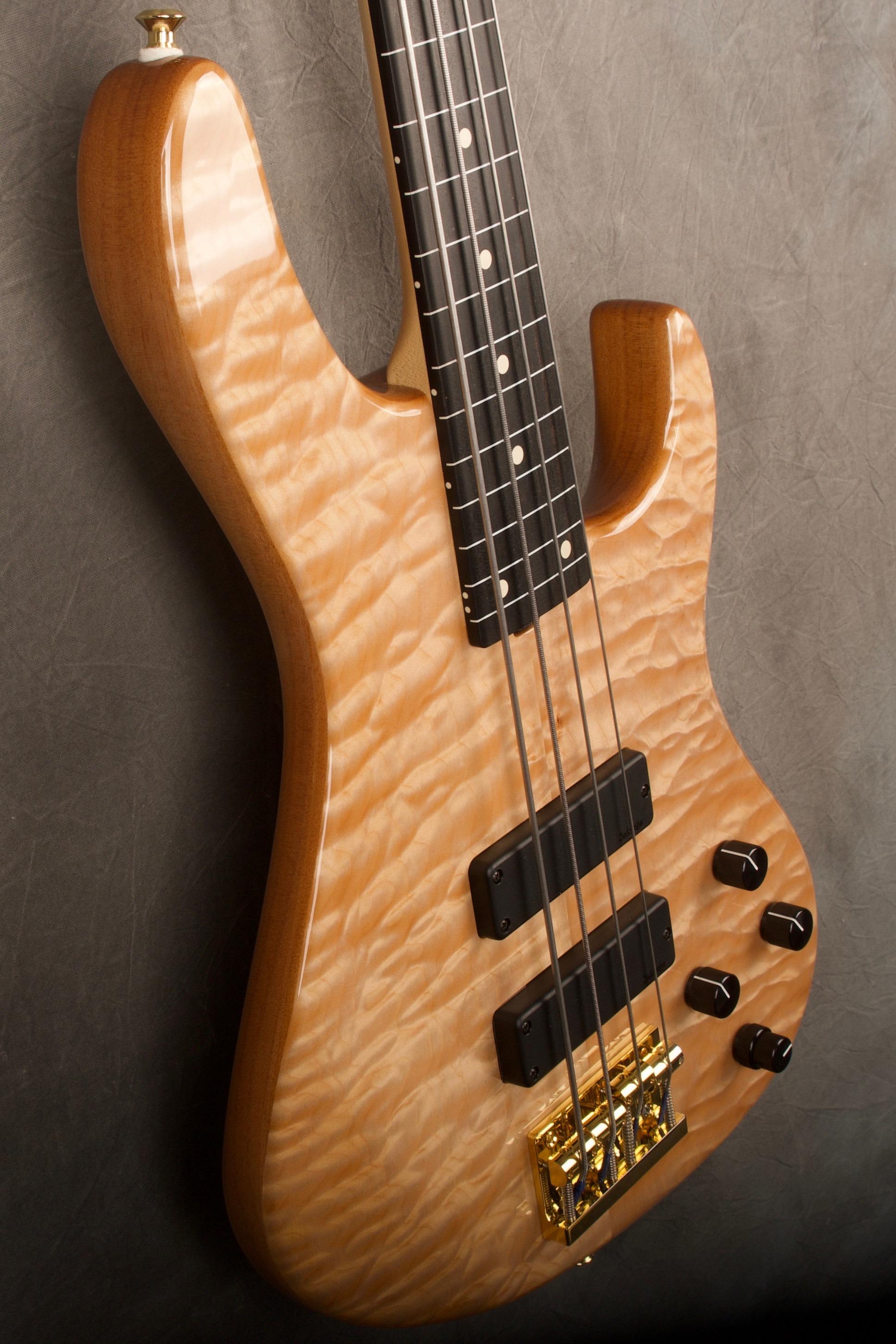 8365 natural 4 24 lined fretless modern 4 string bass guitar sadowsky guitars. Black Bedroom Furniture Sets. Home Design Ideas