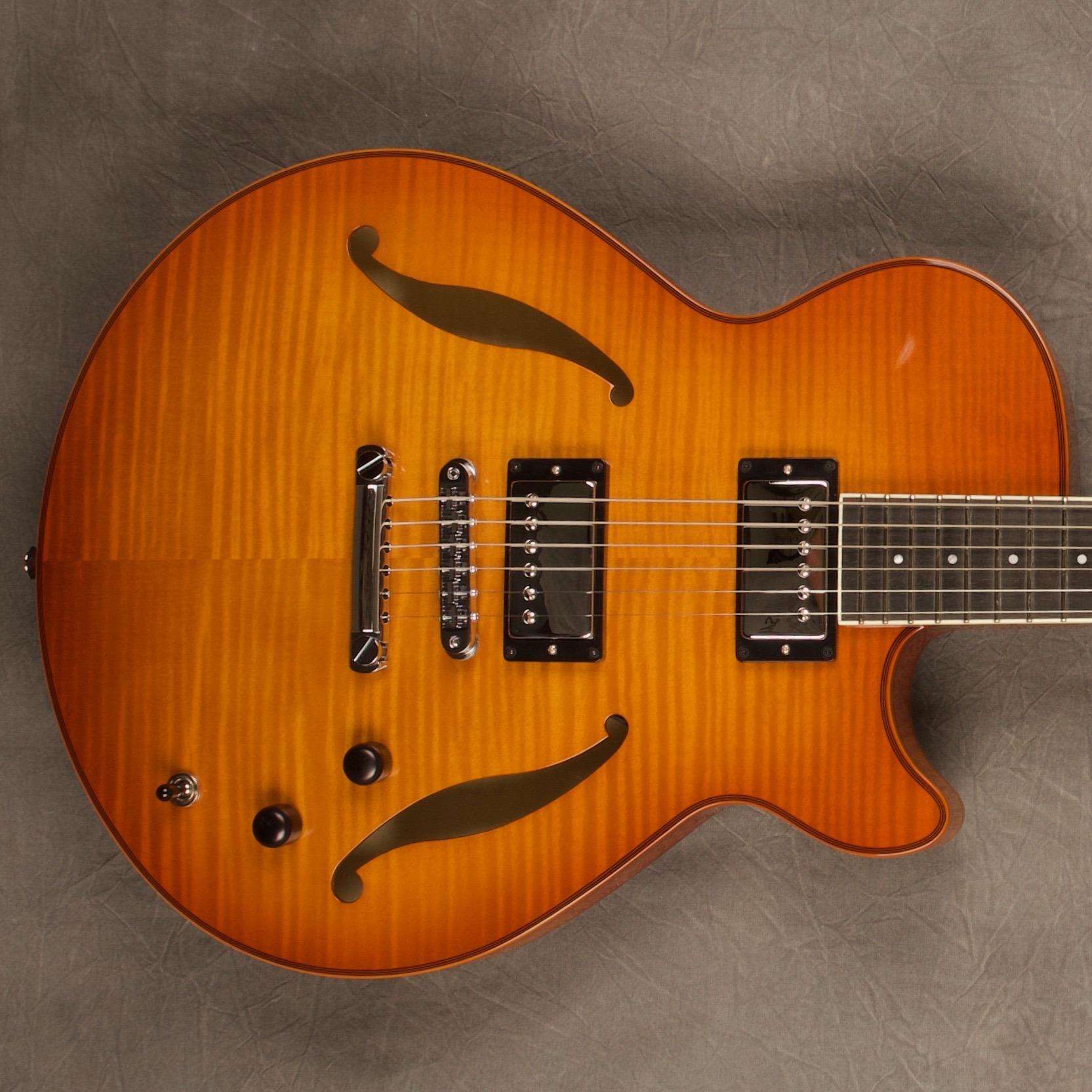 a1794 violin burst semi hollow archtop guitar sadowsky guitars. Black Bedroom Furniture Sets. Home Design Ideas